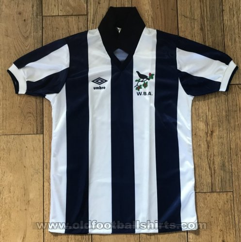 West Bromwich Albion Home football shirt 1986 - 1989