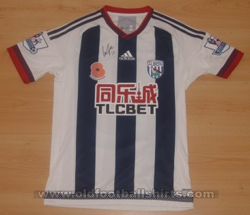 West Bromwich Albion Home football shirt 2015 - 2016