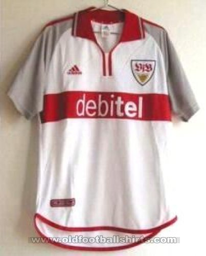 VfB Stuttgart Home football shirt 2000 - 2001