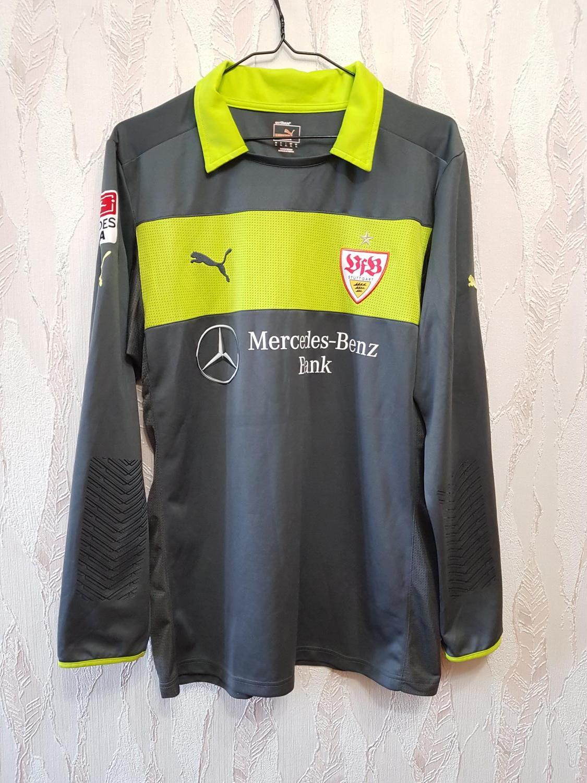 Vfb Stuttgart Malvakt Fotbollstroja 2012 2013 Sponsored By Mercedes Benz Bank
