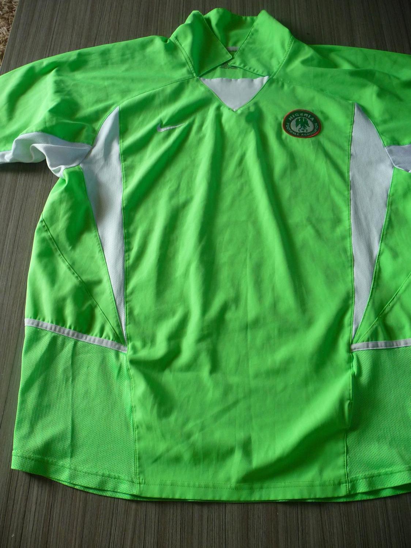 premium selection 40b70 6f259 Nigeria Home maglia di calcio 2002 - 2004.