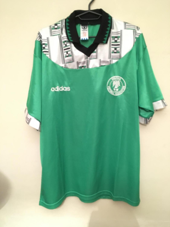 Nigeria Home Maglia Di Calcio 1994 1995