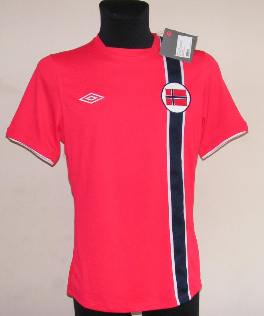 Norway Home camisa de futebol 2012 - 2013. f087445eb
