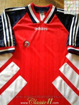 Nationalmannschaften Norway Football Shirt L 1993 1994 Adidas Maglia Jersey Trikot Norwegen Norge