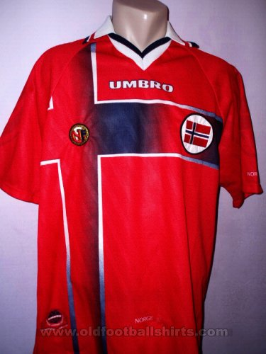 Norway Home football shirt 1997 - 1998
