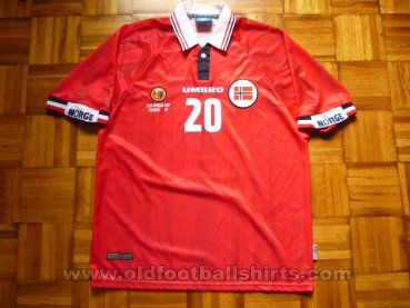 Norway Home football shirt 1998 - 1999