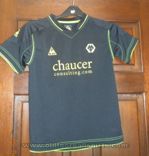 Wolverhampton Wanderers Away football shirt 2008 - 2009