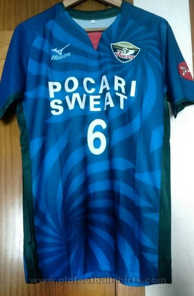 Tokushima Vortis Home football shirt 2018