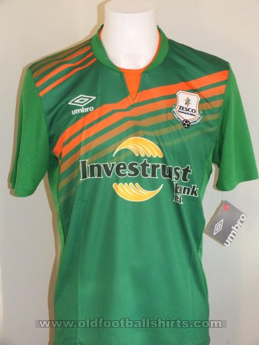 ZESCO United Home football shirt 2013 - 2014