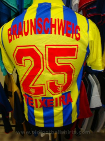 Eintracht Braunschweig II Unknown shirt type (unknown year)