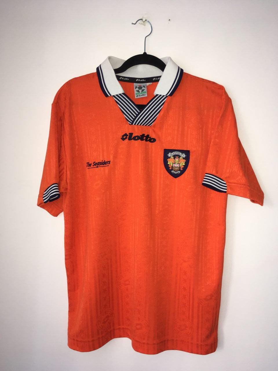 Blackpool Home Football Shirt 1997 1999