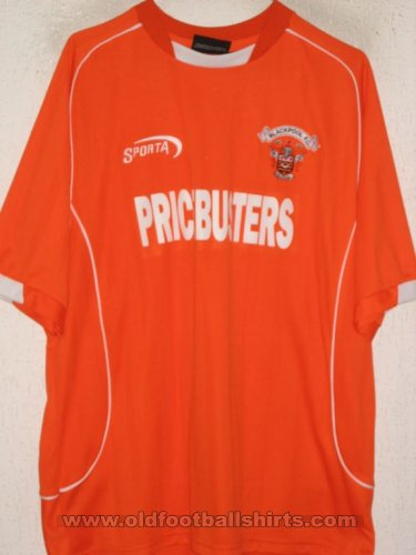 Blackpool Home football shirt 2004 - 2005
