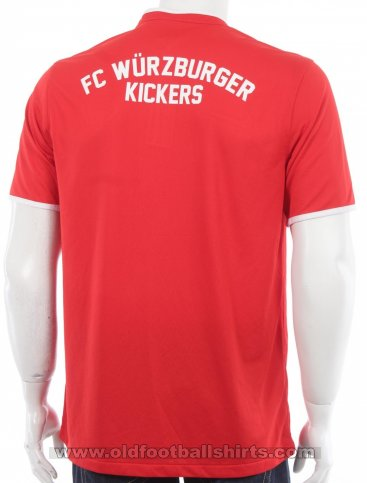 Würzburger Kickers Home voetbalshirt  2014 - 2015