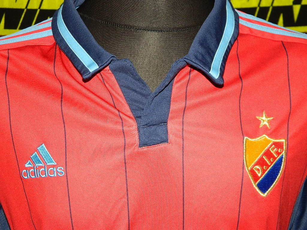 DJURGARDENS I.F STOCKHOLM 2010//11 L//S AWAY SHIRT BY ADIDAS SIZE MEN/'S MEDIUM NEW