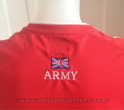 British Army Home football shirt 2011 - 2013