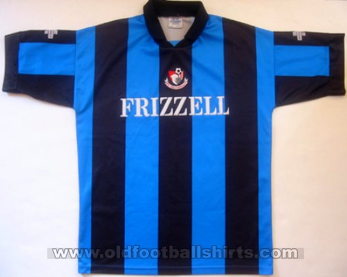 Bournemouth Away baju bolasepak 1994 - 1995