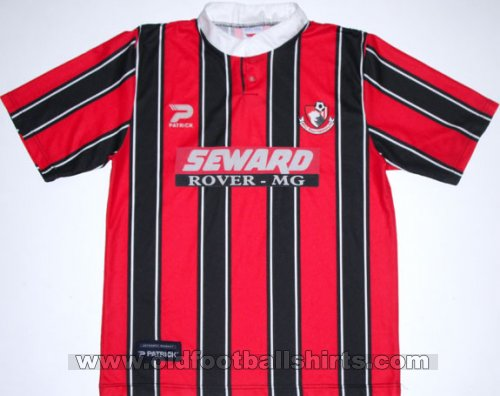Bournemouth Home Fußball-Trikots 1997 - 1998