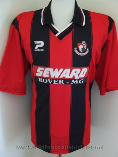 Bournemouth Home Fußball-Trikots 1998 - 2000