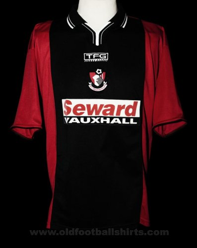 Bournemouth Home baju bolasepak 2002 - 2003