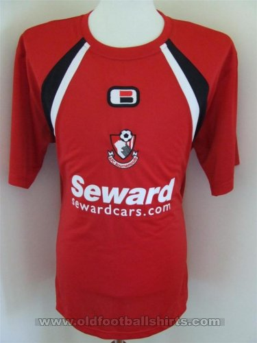 Bournemouth Training/Leisure baju bolasepak 2004 - 2006