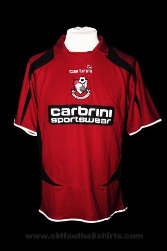 Bournemouth Home football shirt 2008 - 2010