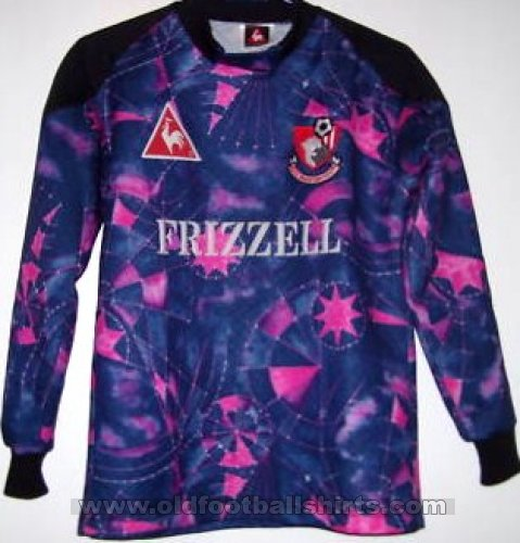 Bournemouth Goalkeeper baju bolasepak 1995 - 1996