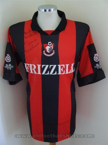 Bournemouth Home Maillot de foot 1994 - 1995