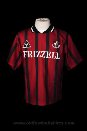 Bournemouth Thuis  voetbalshirt  1995 - 1996