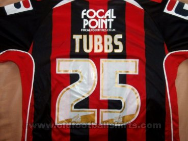 Bournemouth Home football shirt 2011 - 2012
