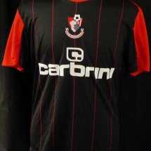 Bournemouth Home חולצת כדורגל 2010 - 2011 sponsored by Carbrini Sportswear