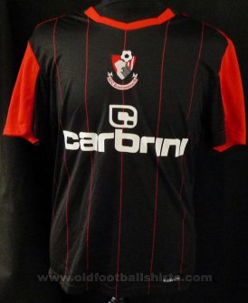 Bournemouth Third Camiseta de Fútbol 2010 - 2011