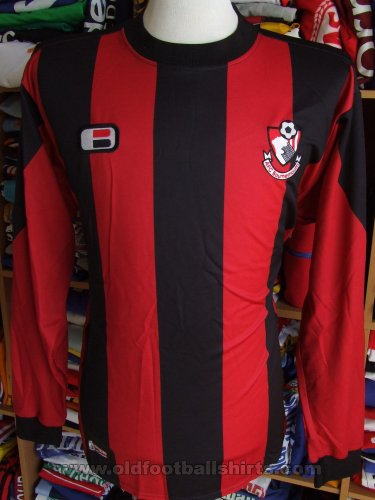 Bournemouth Home baju bolasepak 2006 - 2008