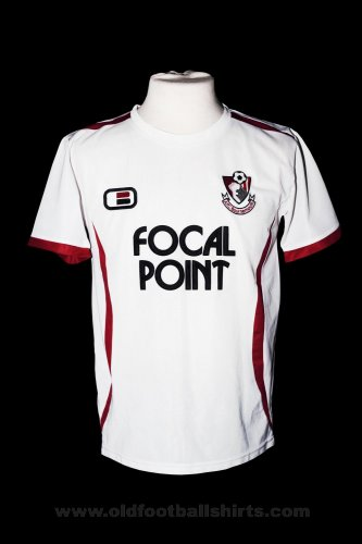 Bournemouth Away football shirt 2007 - 2008