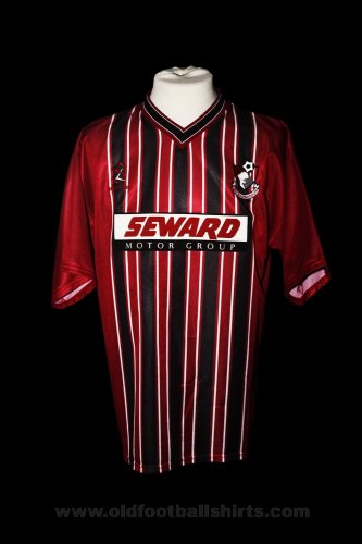 Bournemouth Home Fußball-Trikots 2000 - 2001