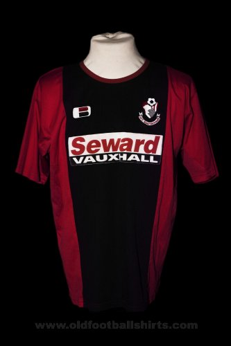 Bournemouth Thuis  voetbalshirt  2003 - 2004