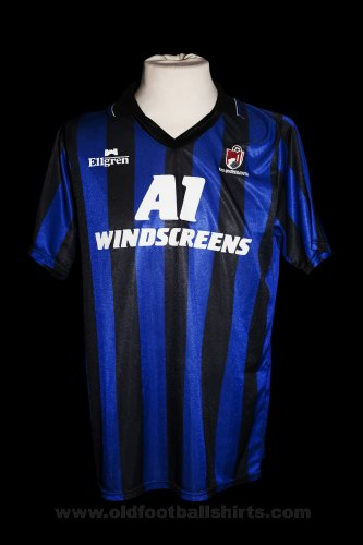 Bournemouth Away baju bolasepak 1990 - 1992
