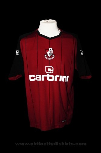 Bournemouth Home Fußball-Trikots 2010 - 2011