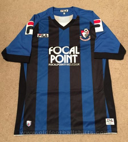 Bournemouth Away football shirt 2011 - 2012