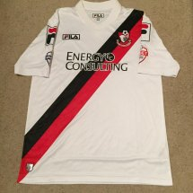 Bournemouth Home חולצת כדורגל 2013 - 2014 sponsored by Energy Consulting