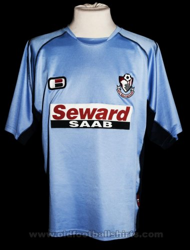 Bournemouth Away baju bolasepak 2003 - 2005