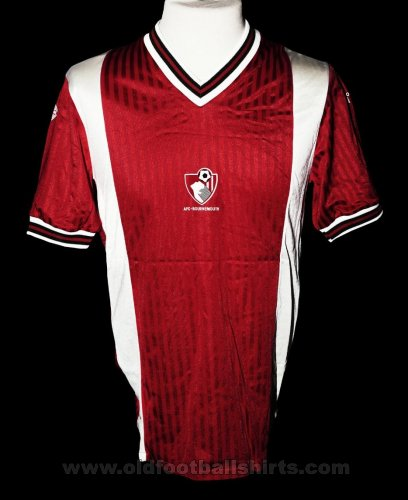 Bournemouth Home football shirt 1989 - 1990