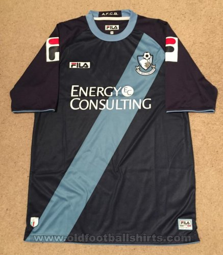 Bournemouth Away baju bolasepak 2012 - 2013