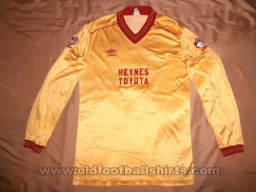 Bournemouth Away football shirt 1983 - 1985
