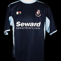 Bournemouth Away camisa de futebol 2005 - 2007 sponsored by Seward
