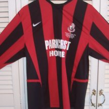 Bournemouth Special camisa de futebol 2005 sponsored by Parkcrest Homes