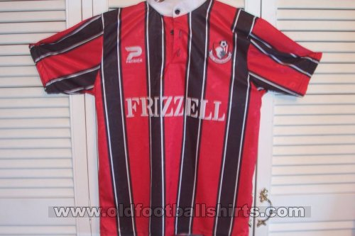 Bournemouth Home Camiseta de Fútbol 1996 - 1997