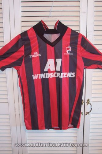 Bournemouth Home Fußball-Trikots 1990 - 1992