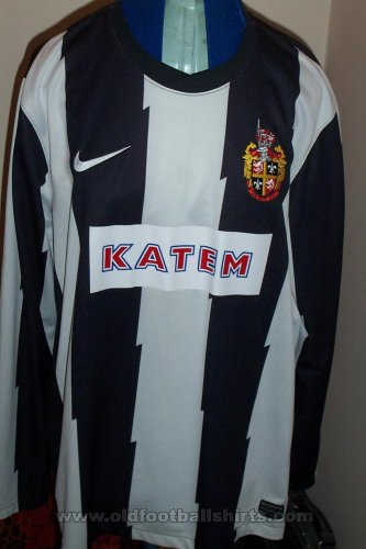 Spennymoor Town Home baju bolasepak (unknown year)
