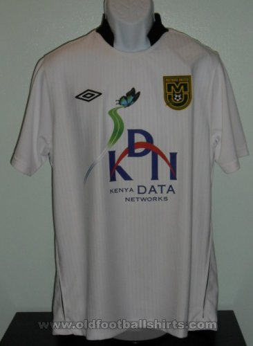 Mathare United F.C. Home football shirt (unknown year)