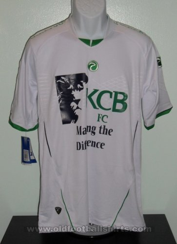 Kenya Commercial Bank S.C. Home football shirt (unknown year)